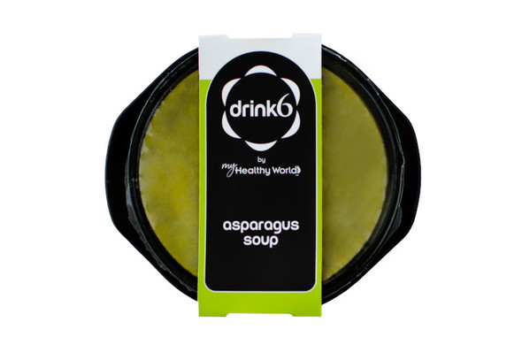 Crema di asparagi selvatici con Manioca }}