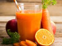 Ricetta succo di carote detox